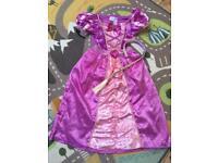 Fancy dress costumes - Rapunzel & Sofia 5-7
