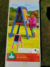 ELC Art Centre with chalkboard