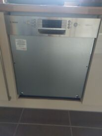 Bosch Semi-Integrated Dishwasher barely used
