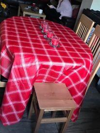 Next large rectangular table cloth