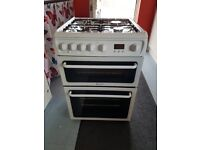 hotpoint gas cooker 2 ovens