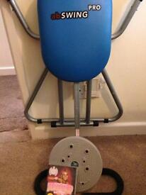 ***Ab pro,spinner and Dvd***
