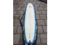 "9""3 Mellow Wave longboard (With Rhino bag and leash)"