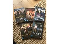 Twilight DVDs