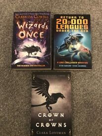 Brand New X3 Books (Young Adult) Ideal Christmas Gift