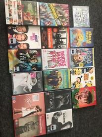 Brand new in seal dvds £2.50 each
