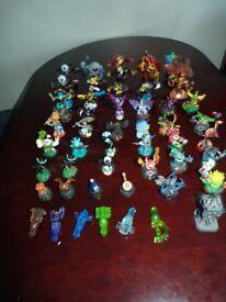 52 x Skylanders Figures Trap Team giants portal, pack, bundle, set
