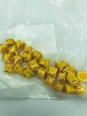 New 25 Pack Pentair Hypro Uld120-02 Spray Tips Yellow