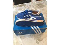 Blue size 1 trainers