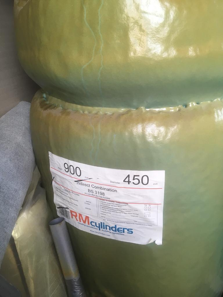 Water cylinder 900x450 New