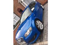 Audi s3- Sprint Blue, Low Miles, Satnav, flat bottom, F.S.H
