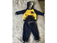 Tommy Hilfiger hooded tracksuit aged 6-9 months