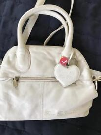 Small hand bag with shoulder strap