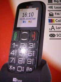 Mercury 2 TT 200 Phone , BIG BUTTONS , COLOUR SCREEN, LARGER FONTS, FM RADIO
