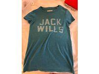Jack wills size 6 top
