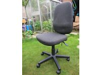 Grey Office Chair, Comfortable, Used