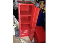 snap on cabinate toolbox in red