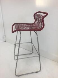 Designer Verner Panton bar stool