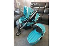 Oyster max with carry cot