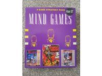 Atari ST Mind games compilation,Waterloo,Austerlitz,Conflict Europe boxed Rare