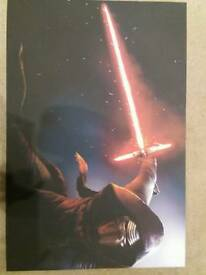 Star wars (Kylo ren) canvas