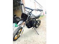 Custom 125 Pitbike