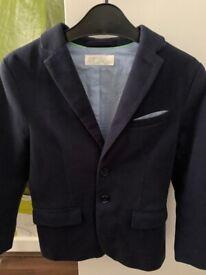 Boy's smart set: shirt, waistcoat, trousers. 8yrs