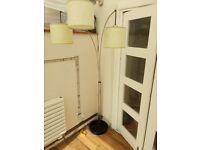 Working 3 light floor lamp