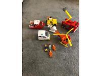 Fireman Sam and Postman Pat set