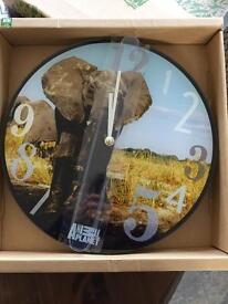 Animal planet wall clock - still in box