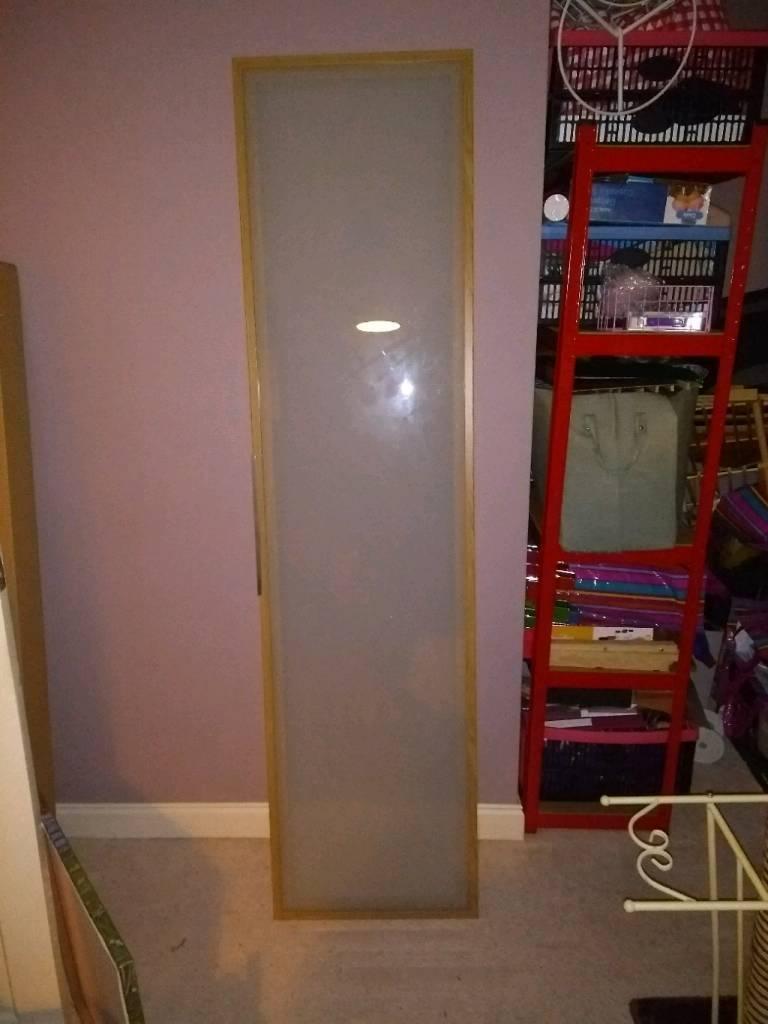 Large Ikea Glass Wardrobe Doors x 4