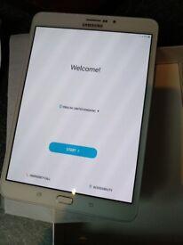 New unused Samsung galaxy tab S2 8.0 white 32gb (EE)