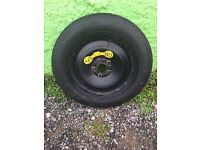 Ford Space Saver Wheel and Tyre (Superb Condition) £20