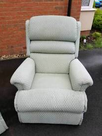 Manual recliner chair/Elderly chair/high backed lounger