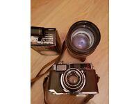 Fujica 35-EE Rangefinder Vintage Camera