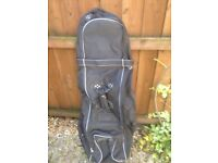 Golf Travel Bag (Slazenger) suitable for air travel and used only once