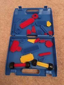 Sticklebricks set and case