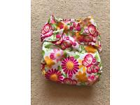 2 Blueberry reusable nappies
