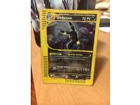 Umbreon Skyridge H30 Pokemon Card Holo Rare