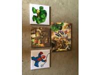 Lego Marvel Wall Prints