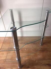Glass corner unit