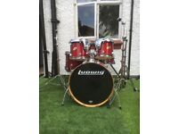 Drum Kit Ludwig 2 floor toms with Stands