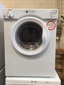 White knight compact tumble dryer