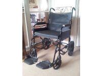 Positive Momentum Wheelchair