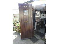 solid wood front door