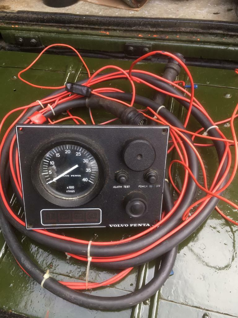 Volvo Penta Start Panel In Christchurch Dorset Gumtree Tachometer Wiring