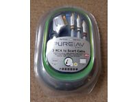 Belkin Pure AV Series 3 RCA to Scart cable