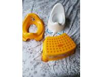 Childs Potty Training Set