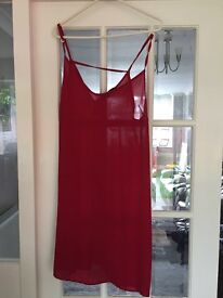 New look Red Dress size 12