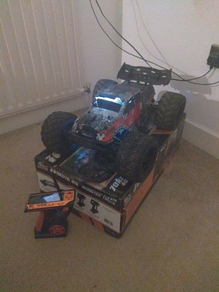 Zombie rc car pgraded parts spare motor and control